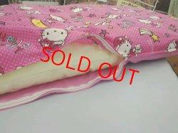 画像3: キティーちゃんカバー付・昔ながらのお昼寝綿敷布団