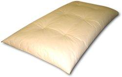 画像1: 綿入り手作り長座布団
