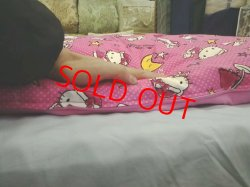画像4: トーマスカバー付き 昔ながらのお昼寝綿布団セット